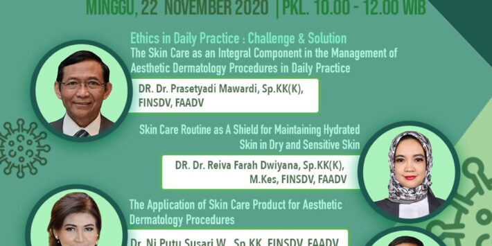 Webinar 20 – Skin Care Management for Medical and Aesthetic Procedures in Daily Practice